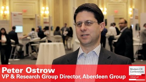 Peter Ostrow Aberdeen Group on social selling
